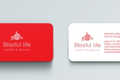 Branding-stationary-Blissful-business-cards