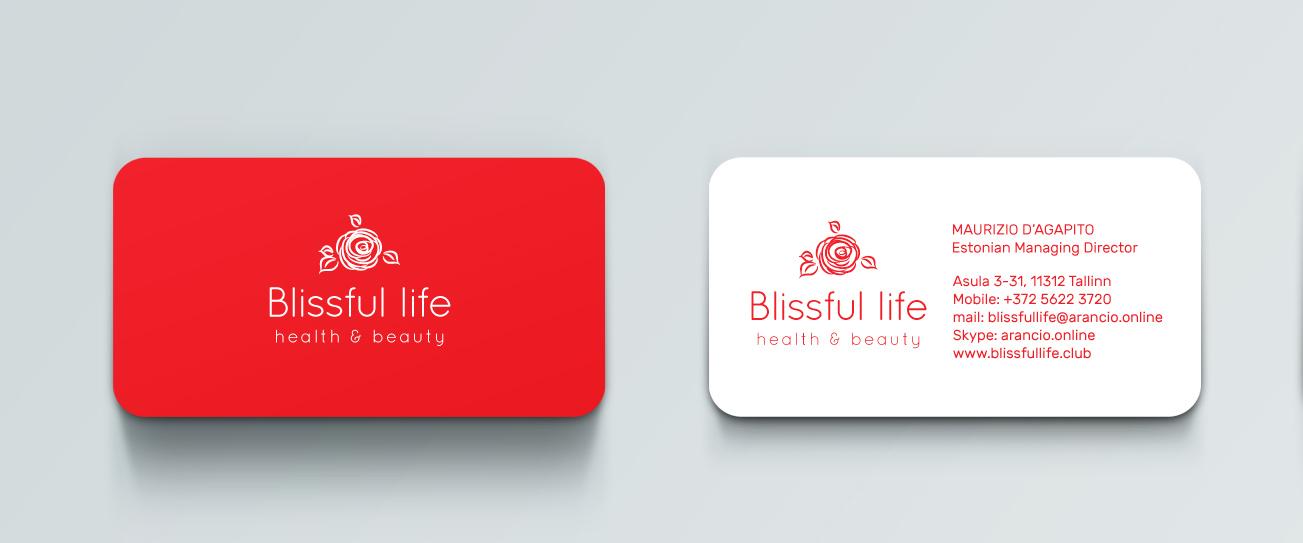 Branding-stationary-Blissful-business-cards
